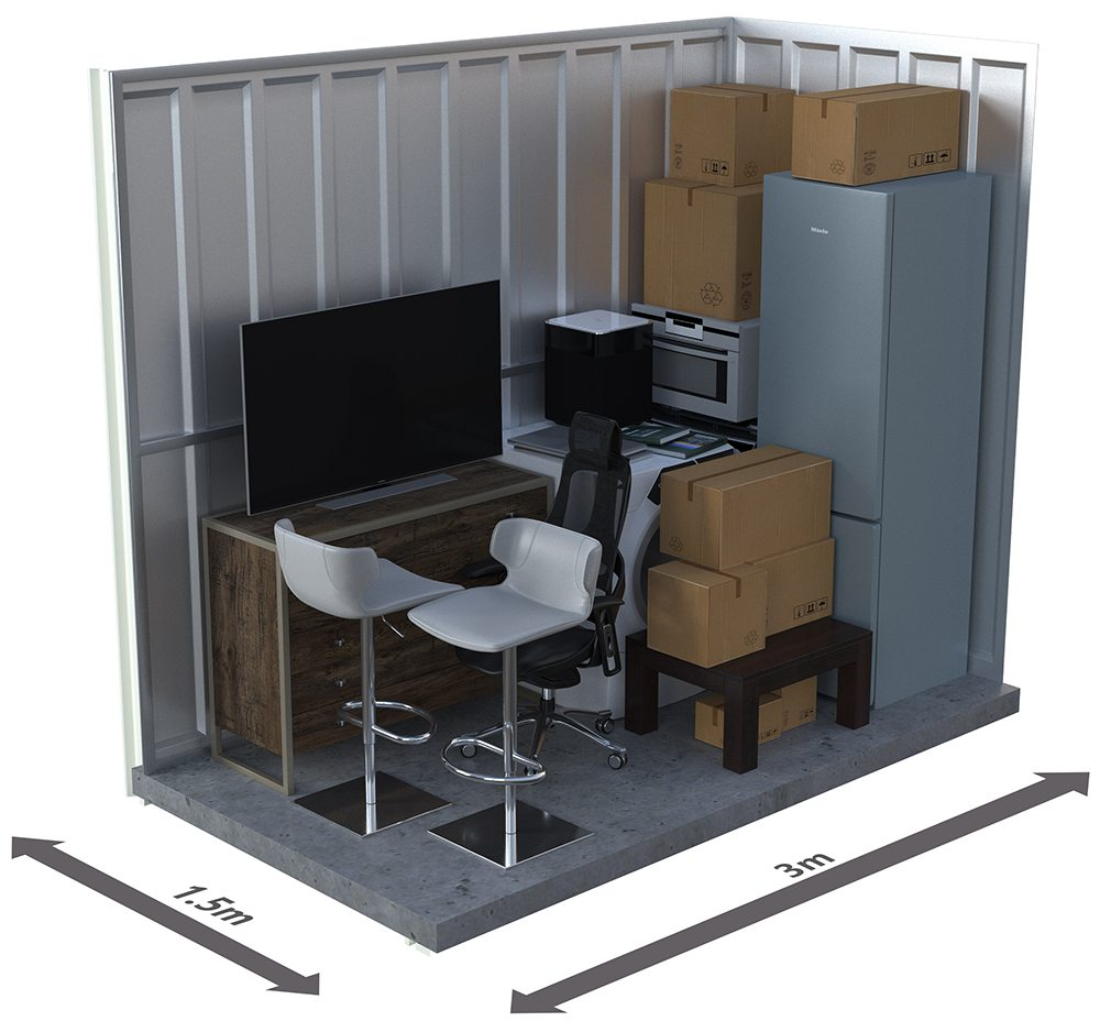 Self Storage Space Calculator   Griffith Self Storage   Storage Solutions
